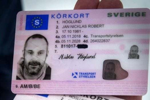 getting a swedish driving licence