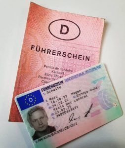 German driving License without test