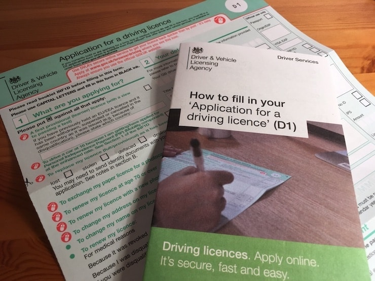 buy uk driving license without test