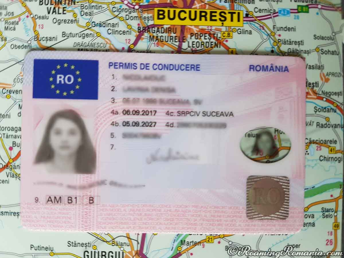 Buy Romanian Driver's License without test
