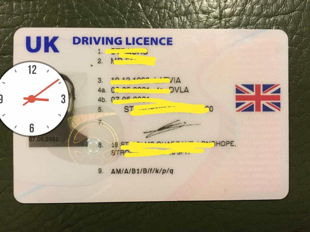 Buy UK Driving License In 2022