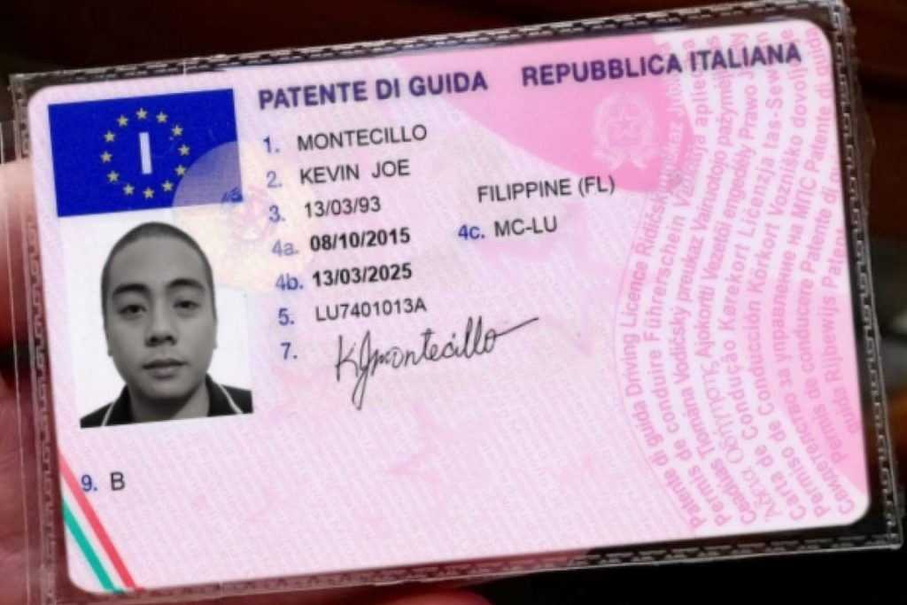 How to check Italian driving licence online